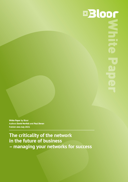 Cover for The Criticality of the Network in the Future of Business - Managing your networks for success