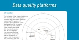 Cover for Data quality platforms