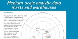 Cover for Medium-scale analytic data marts and warehouses