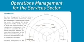 Cover for Operations Management for the Services Sector