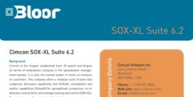 Cover for Cimcon SOX-XL Suite 6.2