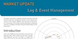 Cover for Log & Event Management