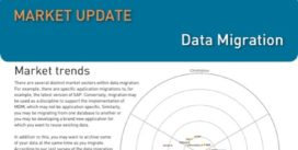 Cover for Data Migration Market Update - 2013