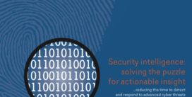 Cover for Security intelligence: solving the puzzle for actionable insight