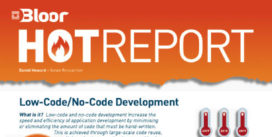 Cover for Low-Code/No-Code Development Hot Report