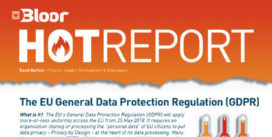 Cover for The EU General Data Protection Regulation (GDPR)