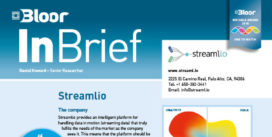 The cover of Streamlio (InBrief)