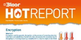 Cover for the Encryption Hot Report