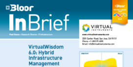 Cover for VirtualWisdom 6.0: Hybrid Infrastructure Management
