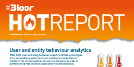 Cover for User and entity behavioural analytics