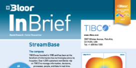 Cover for TIBCO StreamBase