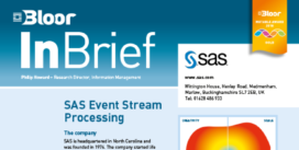 Cover for SAS Event Stream Processing