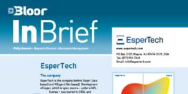 Cover for the EsperTech InBrief