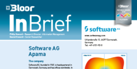 Cover for the Software AG Apama InBrief