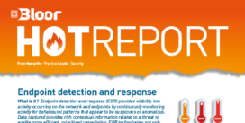 Cover for the Endpoint detection and response Hot Report
