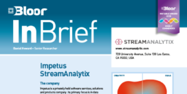 The cover for StreamAnalytix
