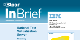 Cover for IBM – Rational Test Virtualization Server