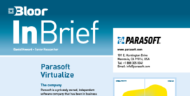 Cover for the Parasoft Virtualize InBrief