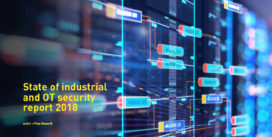 Cover for State of Industrial and OT Security Report 2018