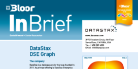 Cover for the DataStax DSE Graph InBrief