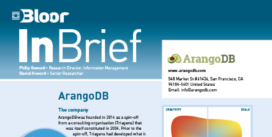 Cover for the ArangoDB InBrief