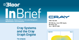 Cover for the Cray Systems and the Cray Graph Engine InBrief