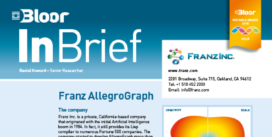 Cover for the Franz AllegroGraph InBrief