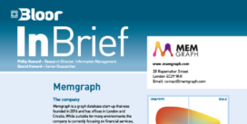 Cover for the Memgraph InBrief