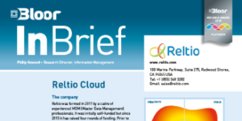 Cover for Reltio Cloud (InBrief)