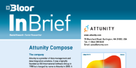 Cover for the Attunity Compose InBrief