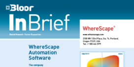 Cover for WhereScape Automation Software (InBrief)