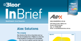 Cover for Alex Solutions (InBrief)