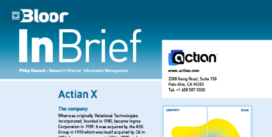 ACTIAN X InBrief cover thumbnail
