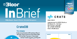 CRATE DB InBrief cover thumbnail