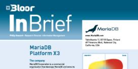 MARIA DB PLATFORM X3 InBrief cover thumbnail