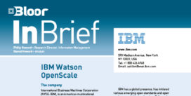 IBM OPENSCALE InBrief cover thumbnail