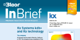 KX SYSTEMS InBrief cover thumbnail
