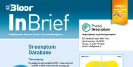 GREENPLUM InBrief cover thumbnail