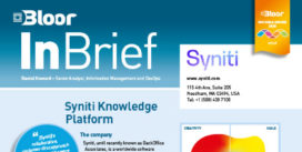 Syniti Knowledge Platform InBrief cover thumbnail