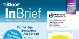 CAMBRIDGE SEMANTICS InBrief cover thumbnail