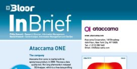 Ataccama One InBrief cover thumbnail