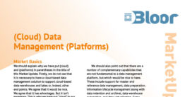 CLOUD DATA MANAGEMENT PLATFORMS Market Update (thumbnail)